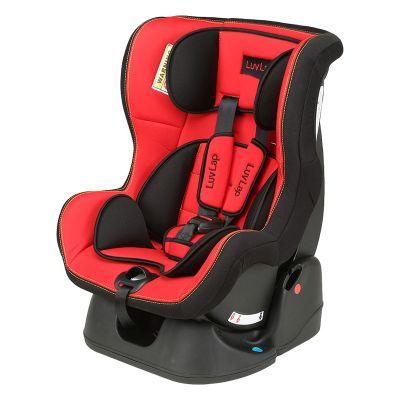 LuvLap Sports Convertible Baby Car Seat, Red/Black