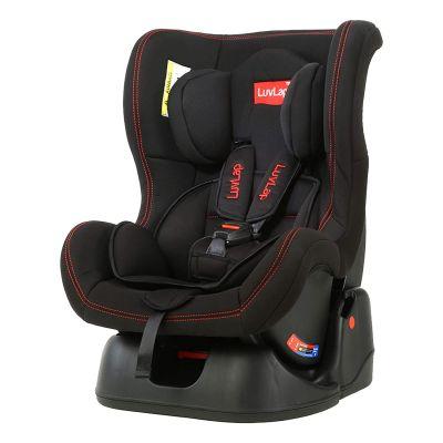 LuvLap Sports Convertible Baby Car Seat, Black