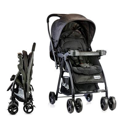 LuvLap Joy Baby Stroller, Black