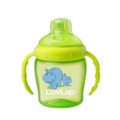 Hippo Spout Cup, 225ml, Green