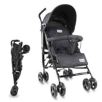 LuvLap Joy Baby Stroller Buggy, Black