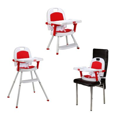 Cosmos 3-in-1 Baby High Chair, Red