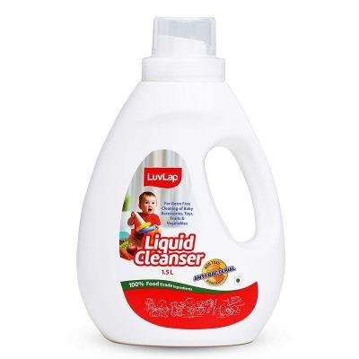 LuvLap Baby Liquid Bottle Cleanser, 1.5 L