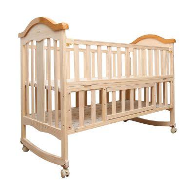 Baby Wooden Cot, C-70, Beige