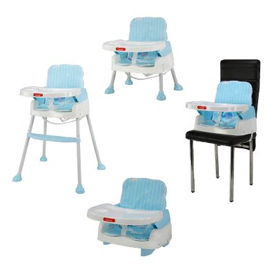 4-in-1 Baby High Chair, Blue