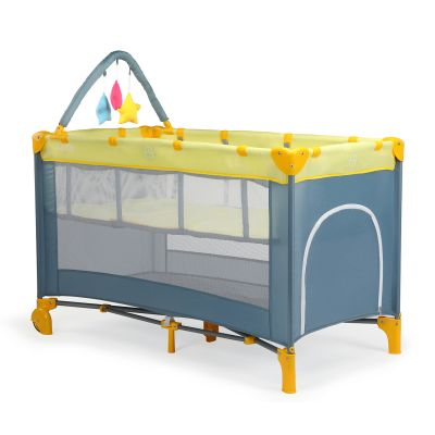 Elegant Baby Playpen, Yellow