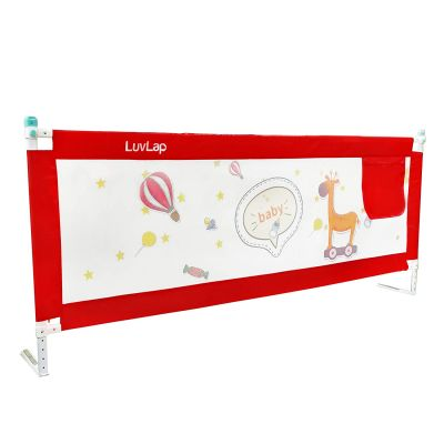Comfy Baby Bed Rail, Red