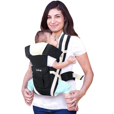 LuvLap Elegant Baby Carrier, Black