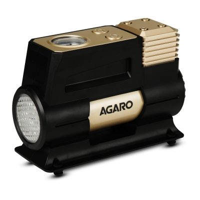 AGARO Force Analog tyre inflator with Emergency Light, 150 watts