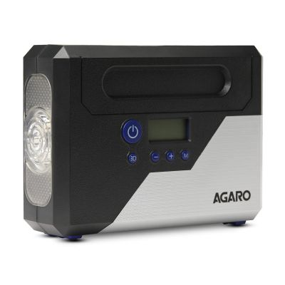AGARO Force Digital Tyre Inflator 120W, Black