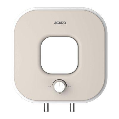 AGARO Splendid 33474, 15Ltr 4 Star Water Heater with Jog wheels (White)